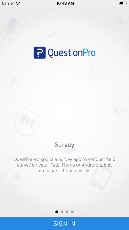 QuestionPro - Offline Surveys