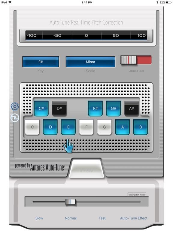Auto-Tune Mobile Screenshots