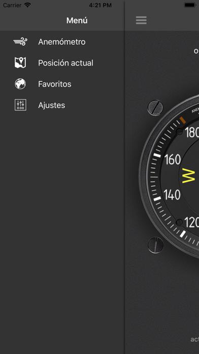 Screenshot for Anemómetro - Velocidad viento in Peru App Store