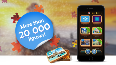 Screenshot for Magic Jigsaw Puzzles in Viet Nam App Store