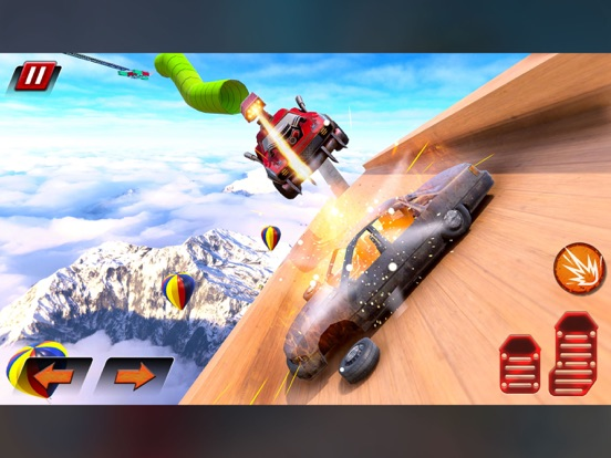 Crazy Shooting Car Stunts Sim screenshot 5
