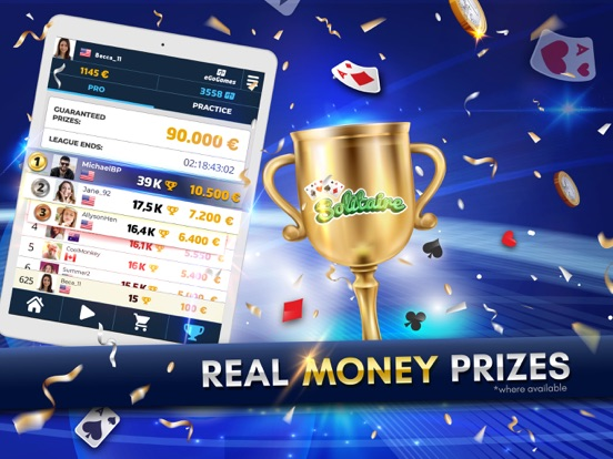 Solitaire: Play For Real Money screenshot 7