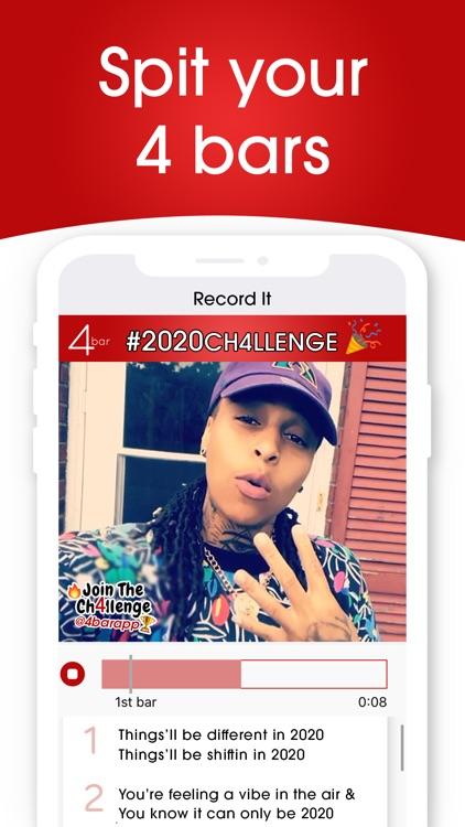 4bar - The Rap Challenge App screenshot-3