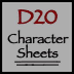D20 Character Sheets