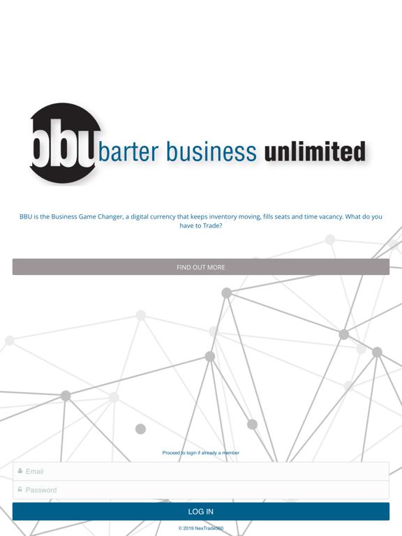 Barter Business Unlimited Mobile screenshot