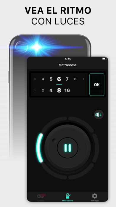 Screenshot for Metrónomo Pro - Beat & Tempo in Chile App Store