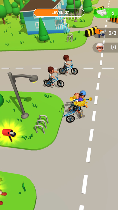 Delivery Rush Game screenshot 2