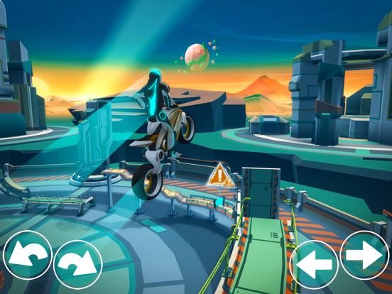 Gravity Rider мотокросс-байкер на iPad