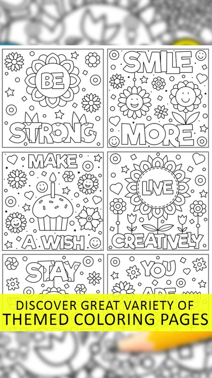 Quotes Coloring Pages screenshot-5