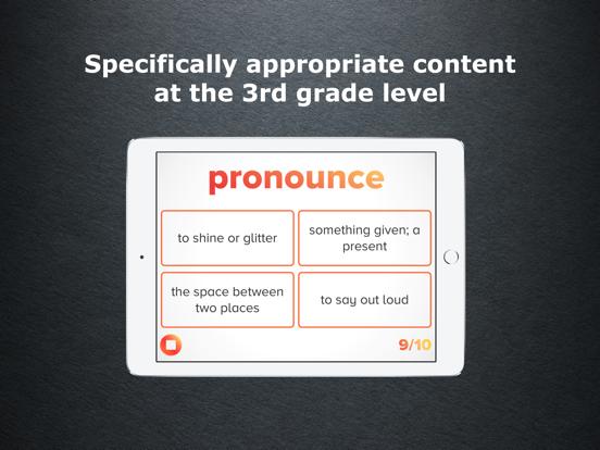3rd Grade Vocabulary Challenge Screenshots