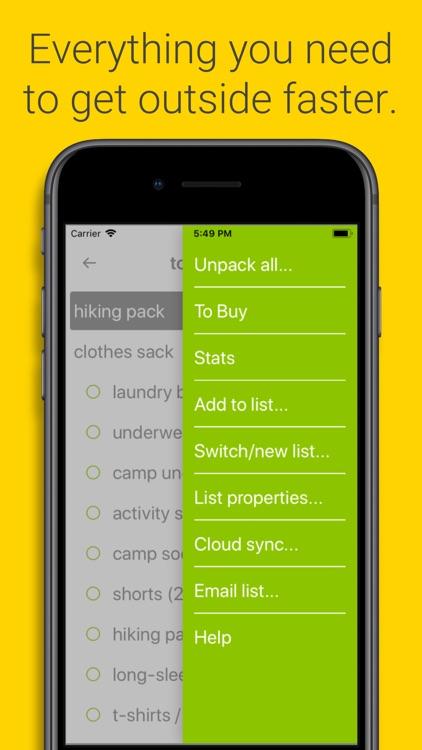 Packwise screenshot-5