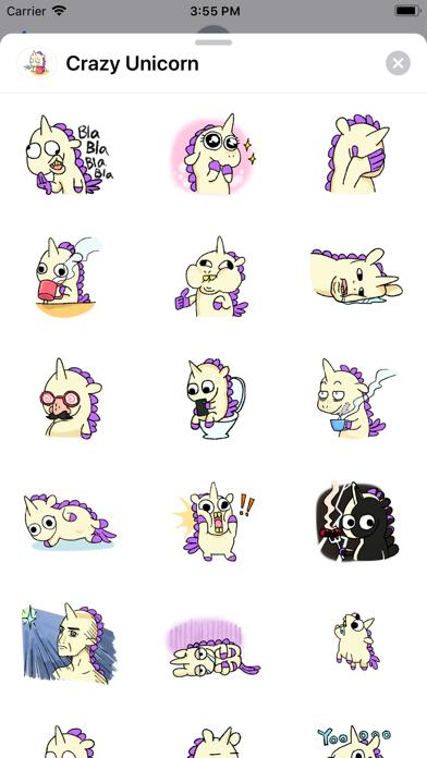 Crazy - Unicorn screenshot 1