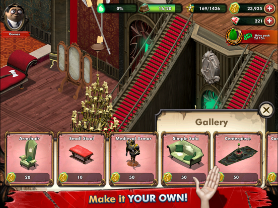 iPad Image of Addams Family Mystery Mansion