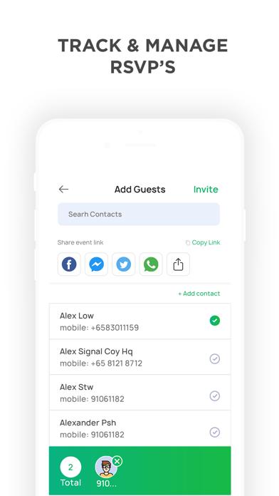 Invitation Maker review screenshots
