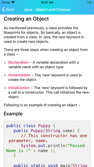 Learn Java Programming [PRO] screenshot 9