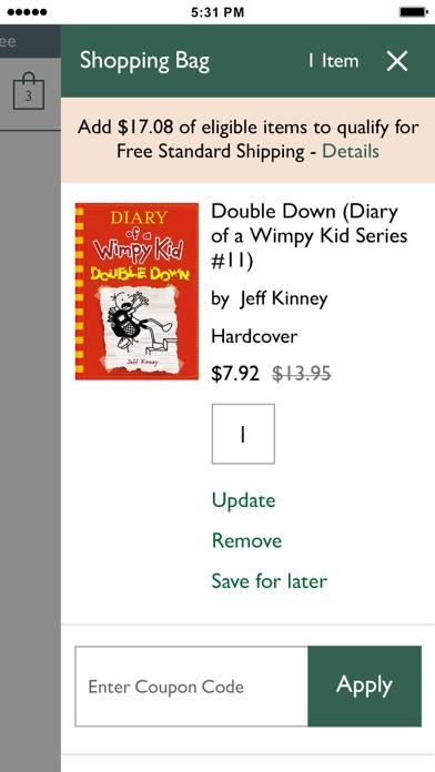 Barnes Noble Shop Books review screenshots