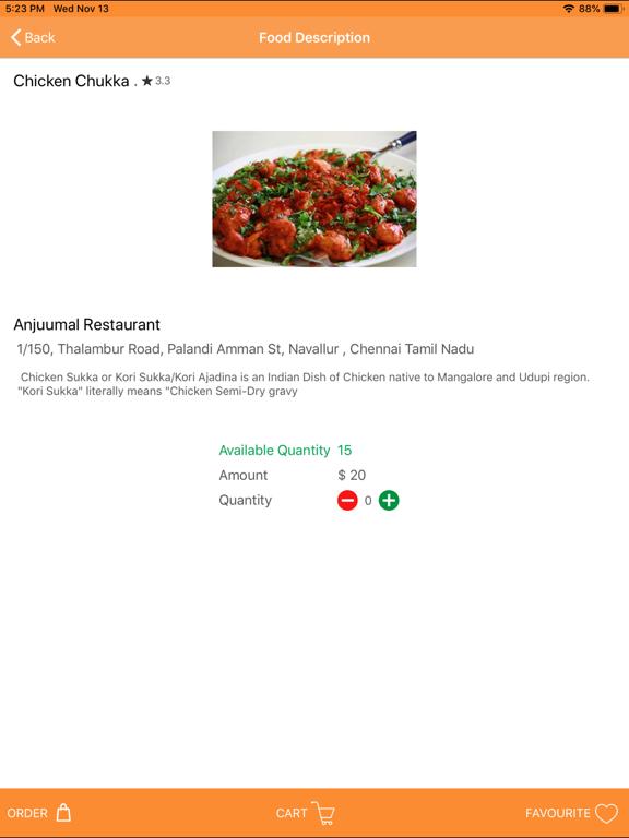 Web Order Food screenshot 5