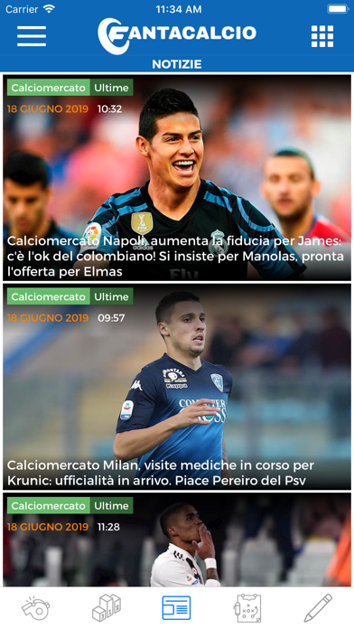 Screenshot #3 pour Fantacalcio.it
