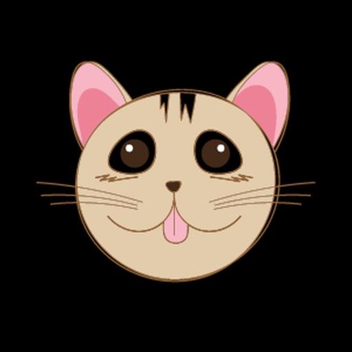 Female Cat Pretty Sticker