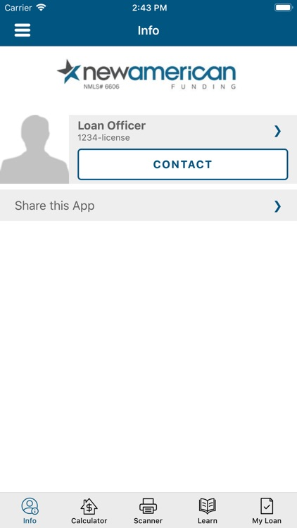 Loan Officer Tool