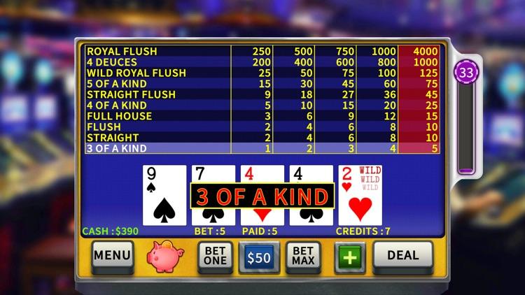 Video Poker High Limit screenshot-7