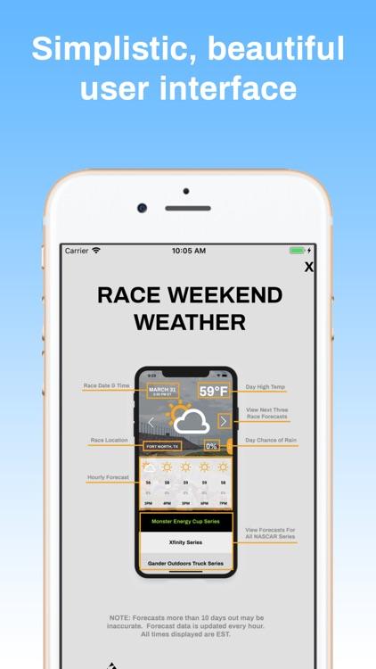 Race Weekend Weather screenshot-3