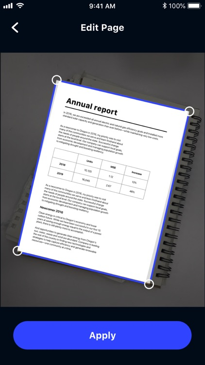 ScaniX:  PDF Document Scanner screenshot-4