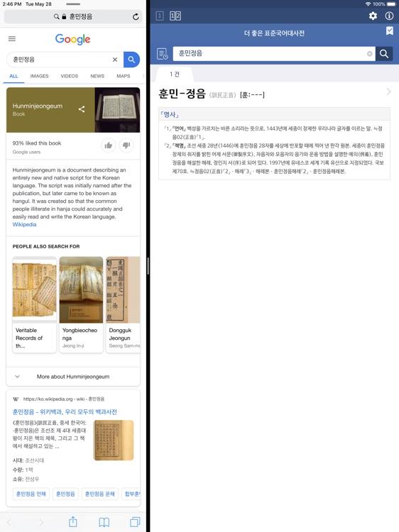 더 좋은 국어사전 프로 for iPad screenshot-4