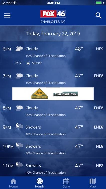 FOX 46 Weather Alerts & Radar screenshot-4