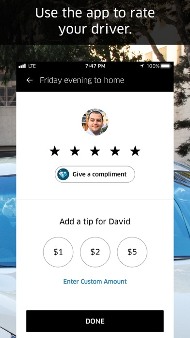 Screenshot #9 for Uber
