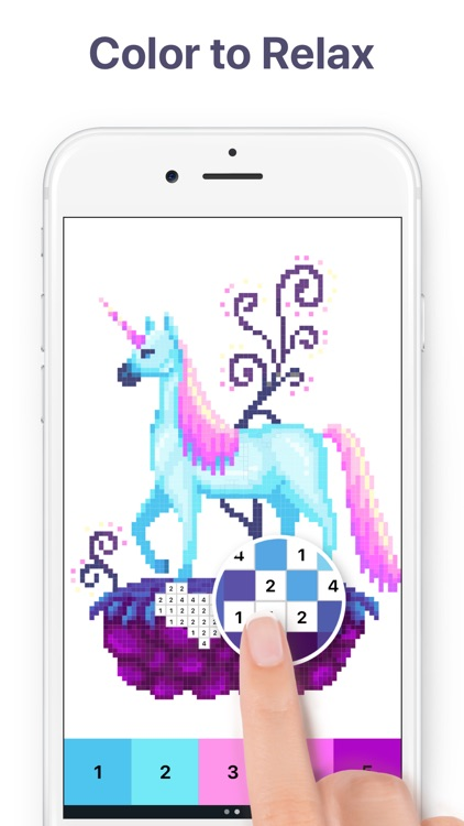 Pixel Art - Color by Number screenshot-0