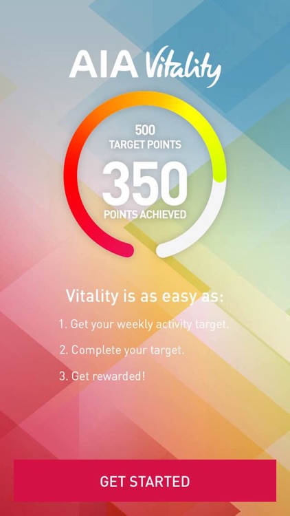 AIA Vitality Weekly Challenge