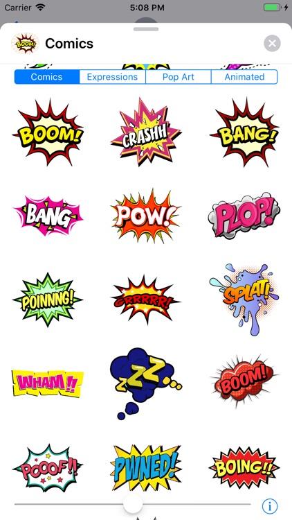 Comics Pop Art Sticker Effects screenshot-3