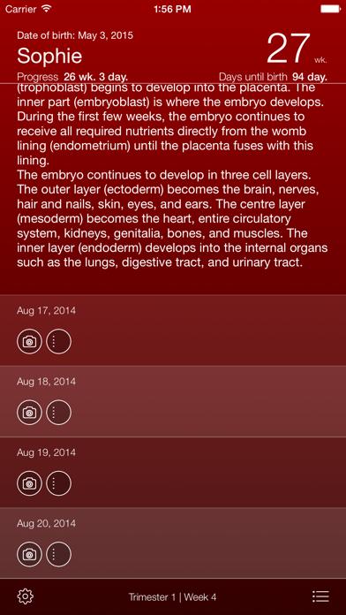 Pregnancy Appのおすすめ画像3