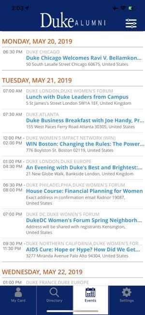 Duke Alumni on the App Store
