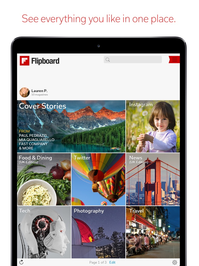 flipboard type app for mac