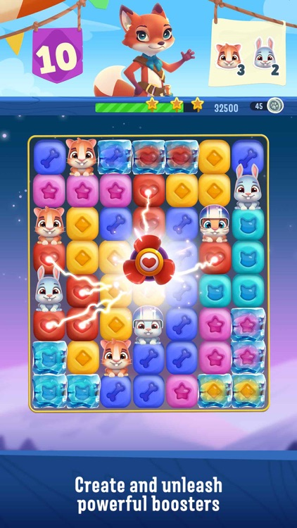Pet Rescue Puzzle Saga screenshot-1