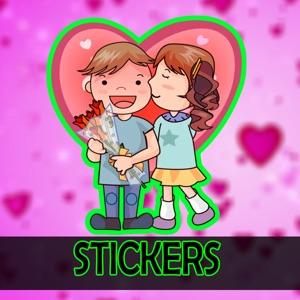 Cute Romance love stickers