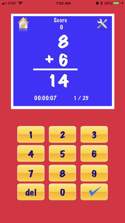 My Math Flash Cards App screenshot-0
