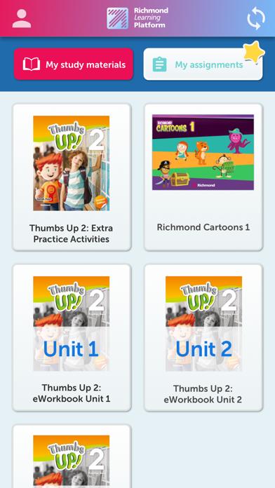 Richmond Learning Platform screenshot 1