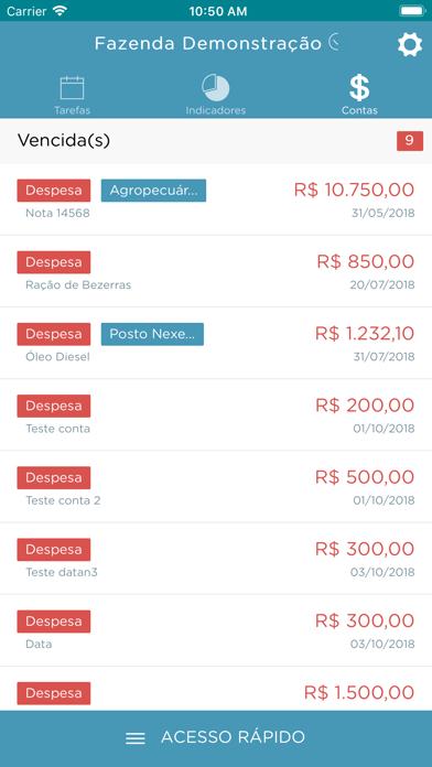 Leigado Gestão Gado Leiteiro screenshot four