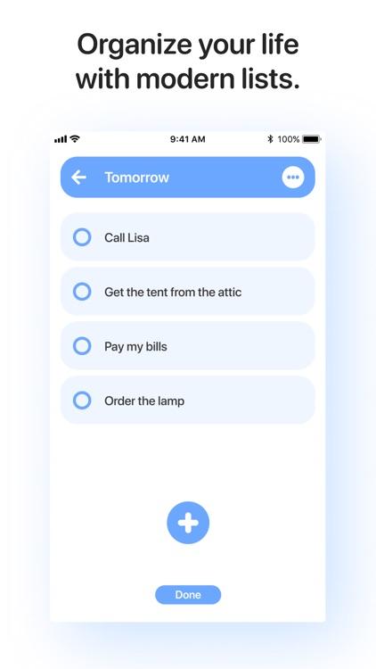 New Task - To Do & Check Lists