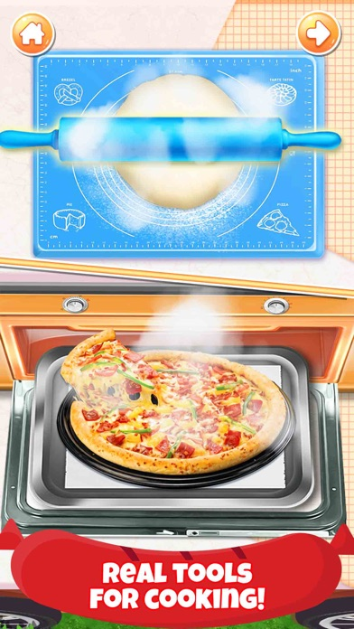 Pizza Chef: Girl Games for Fun Screenshot on iOS
