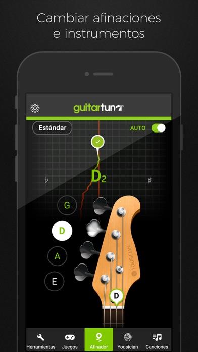 Screenshot for GuitarTuna: Afinador Guitarra in Chile App Store