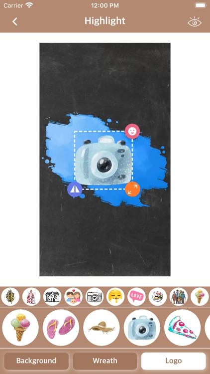 Highlight - Story Cover Maker screenshot-3