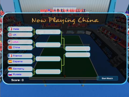 Table Tennis World Tournament screenshot 8