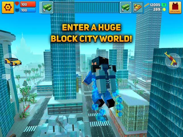 Block City Wars: Mafia Town, game for IOS