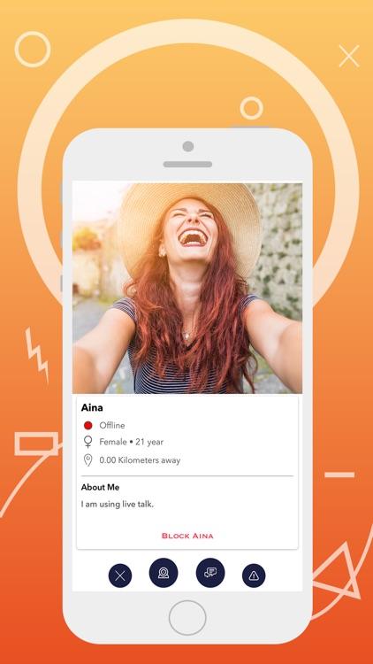 Live Talk - Private Video Chat screenshot-3