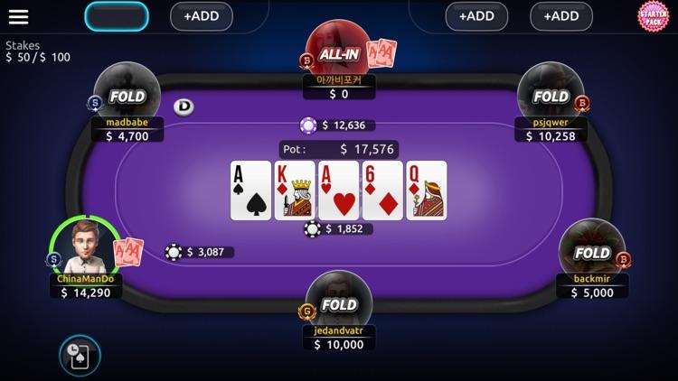 AA POKER:Texas Holdem,Omaha screenshot-3