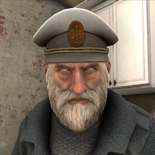 Creepy Evil Grandpa